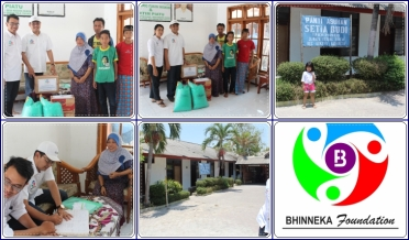 Berbagi Kasih dengan Bhinneka Foundation
