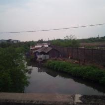 Posisi Kampung dari Tol